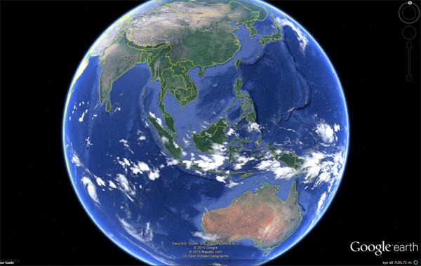 教你利用 Google Earth Pro 在宇宙漫遊