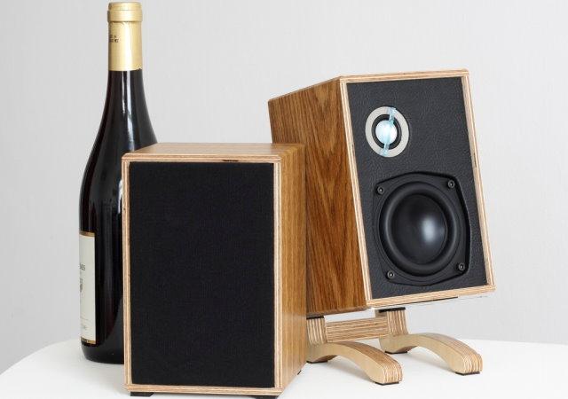 自己的喇叭自己做, Little British Monitor桌上型無線喇叭