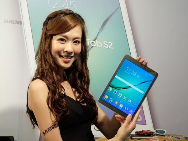 5.6mm 最薄平板!三星推雙尺寸 Galaxy Tab S2 旗艦八核心平板
