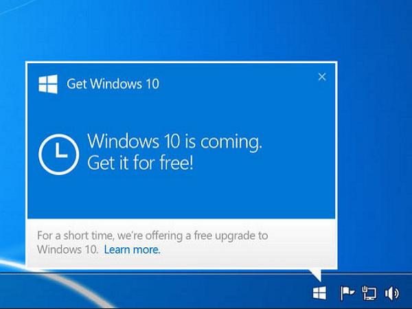 給新手:如何取得Windows 10 免費升級?