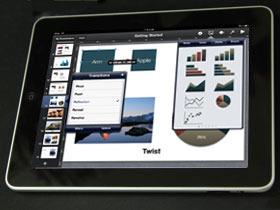 iPad一手測試:iWork讓iPad也能辦公事(下)