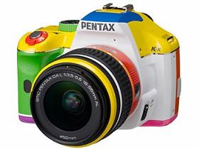 彩虹7色上身Pentax K-x數位單眼相機