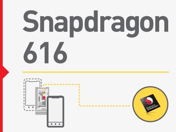 高通推出中階新八核處理器 Snapdragon 616,時脈小幅提升