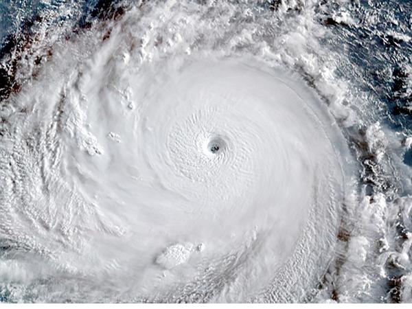 颱風來勢洶洶!從太空看到的蘇迪勒長這樣