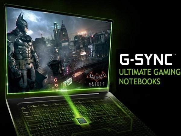 電競筆電也搭 NVIDIA G-Sync,降低遊戲畫面撕裂及延遲問題