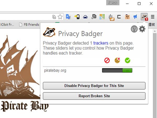 除了AdBlock,現在可以用 Privacy Badger 來保護你的瀏覽器不被廣告追蹤