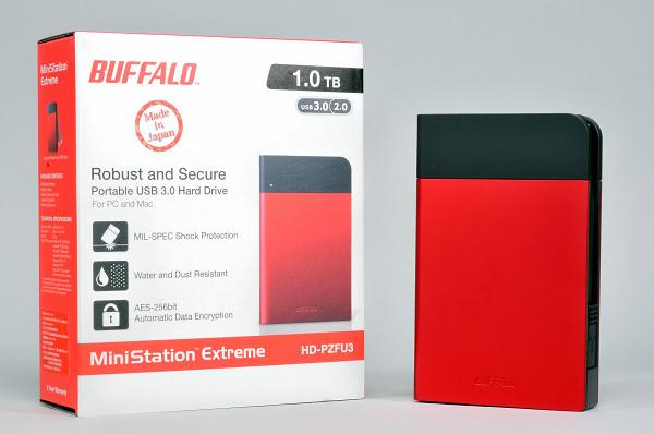 防震、防滴、防塵、加密全面防護,Buffalo MiniStation Extreme 外接硬碟實測