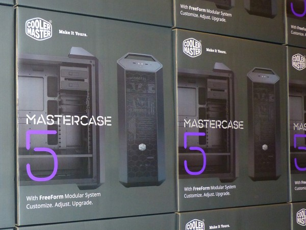機殼配置自己選,Cooler Master MasterCase 5 系列上市