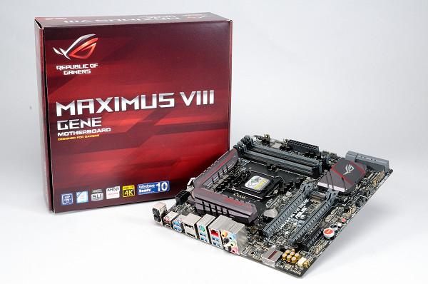 microATX 尺寸 Z170 電競超頻主機板:Asus ROG Maximus VIII Gene