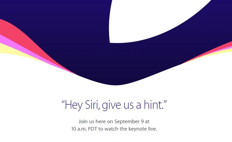 蘋果發表會時間確定,iPhone 6s 我們 9/10 凌晨見!