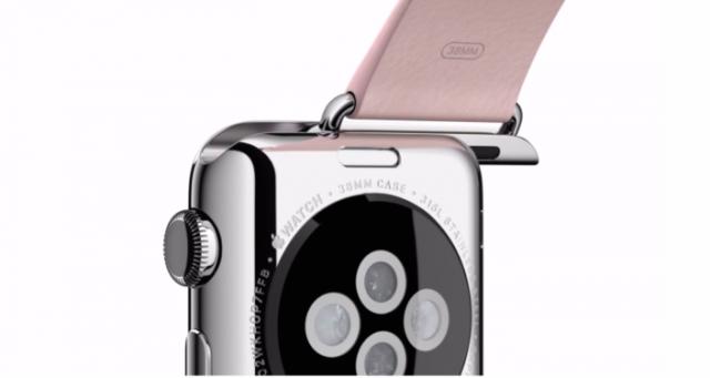 Apple Watch藏在錶帶下的神祕Lightning接頭,功能到底是?