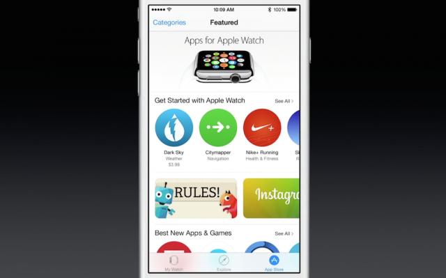 蘋果開始邀請第三方開發者提交Apple Watch版本App
