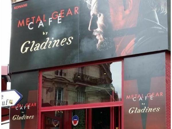 巴黎開了一間《潛龍諜影》餐館,小島秀夫你會來吃一頓嗎?