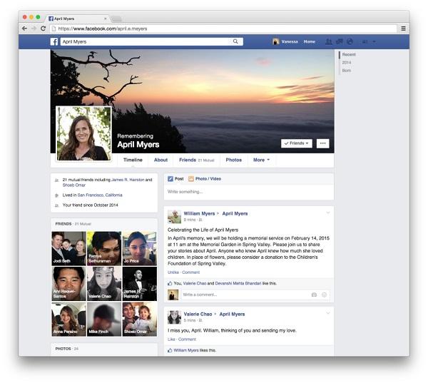 FB身後事可代管,台灣正式啟用 Facebook 紀念帳號代理人