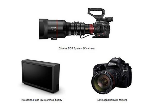 撿到火種源?Canon 正在開發 8K 攝影機與 1億2000萬畫素全幅相機