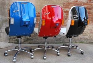 偉士牌經典不滅!用報廢偉士牌機車回收製作的風格座椅