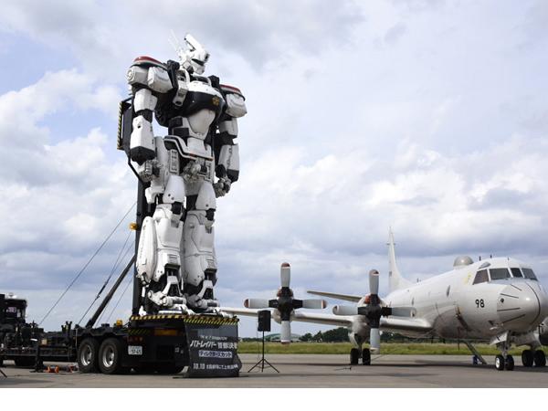 日本自衛隊辦基地祭,最吸睛的卻是這台AV-98 Ingram機動警察