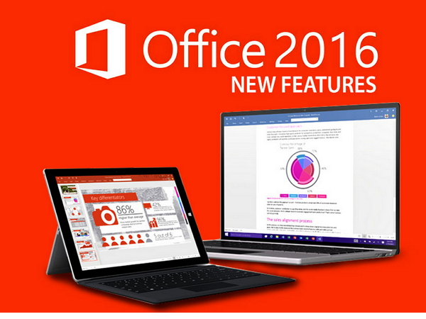 微軟 Office 2016 正式版推出,去哪裡裝,更新了什麼地方?