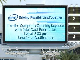 【Computex 2010】一起來聽Intel專題演講
