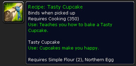 【魔獸世界】杯子蛋糕使你快樂...