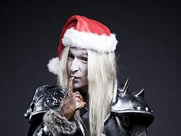 【魔獸世界】[有點娘的] 阿薩斯祝您佳節愉快