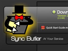 按一下Sync Butler,什麼碟通通都同步了