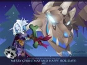 【魔獸世界】官網Fan Art:聖誕快樂