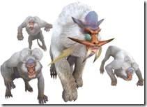 【魔物獵人 Frontier】【魔物獵人】狩獵魔物-雪獅子王