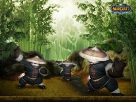 【魔獸世界】官方桌布更新:各位觀眾,三隻熊貓!