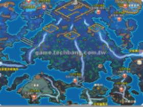 【勇者之歌】【勇者之歌】地圖資料-薩圖努帝國「天嘯峽谷」