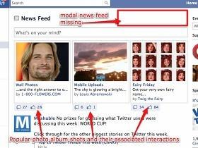 Facebook的新介面長這樣?