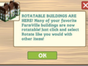 【FarmVille】【Farm Ville】 6/17 改版更新整理-建築物可轉向了