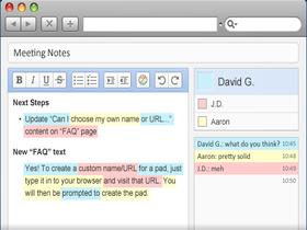 Google Docs原型,真即時的EtherPad Clone