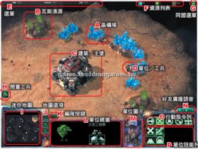 【星海爭霸2】【基本介面】遊戲操作介面