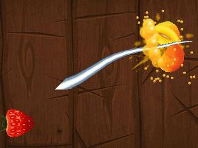 在蘋果上殺水果 一不小心就上癮了