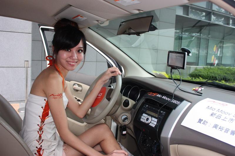 Mio S605,買GPS還多了一台螢幕