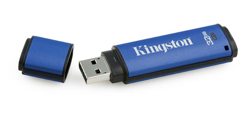 機密資訊的終極保鑣,Kingston加密隨身碟