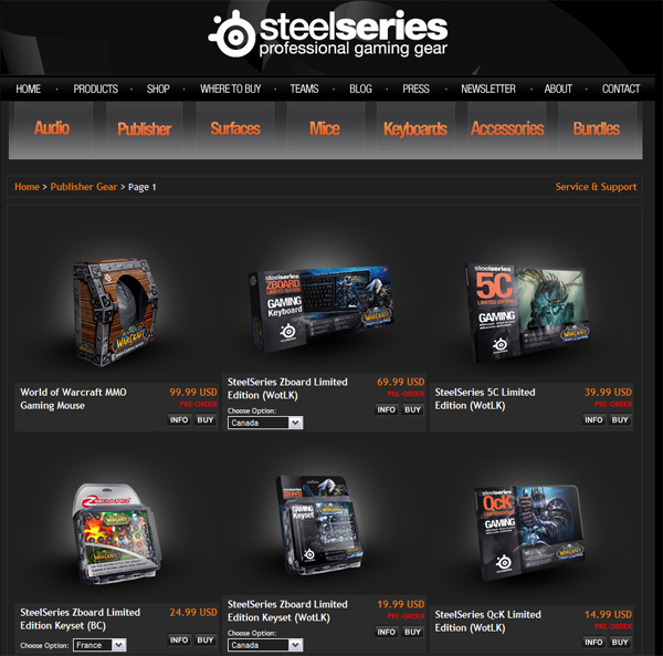 SteelSeries + Blizzard = ??