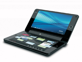 雙觸控小筆電這樣玩:Toshiba Libretto W100