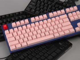 【鍵專欄】自己拼裝電腦王Filco混搭粉紅娘炮鍵盤