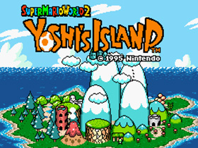 超級瑪莉 外一章:耀西之島