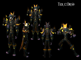 【魔獸世界】【4.2】【火源的怒焰】【T12套裝總覽】:德魯伊