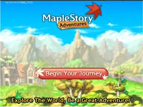 【楓之谷】【臉書版】新手教學-開啟遊戲、介面使用、基本操作篇
