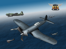 【HIS空戰英豪】8日全新改版42級機體強力開放 太平洋戰區正式開戰!