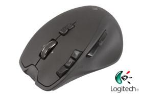 羅技遊戲滑鼠 G700,無線、有線都能玩
