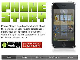 【掌機與手機遊戲】抖出科技業黑暗面,Phone Story遭Apple強迫下架?