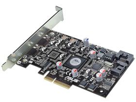 其實 PCI-E 2.0 接 SATA 6Gb/s 並沒有全速運作