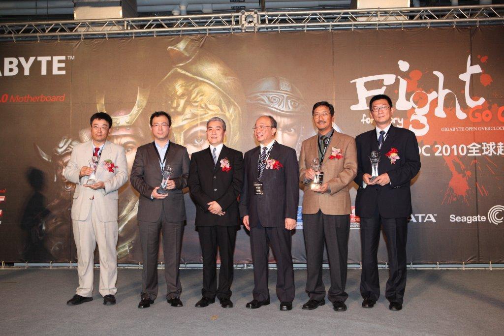 技嘉GO OC 2010全球超頻總決賽 9/25活動圓滿成功,由羅馬尼亞的Matose奪得冠軍