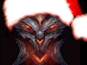 【暗黑破壞神III】【桌布下載】暗黑破壞神祝您佳節快樂~!
