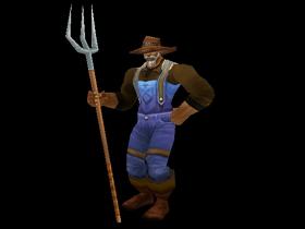 【魔獸世界】【試衣間】我原本也不是農夫,直到我膝蓋中了一箭...